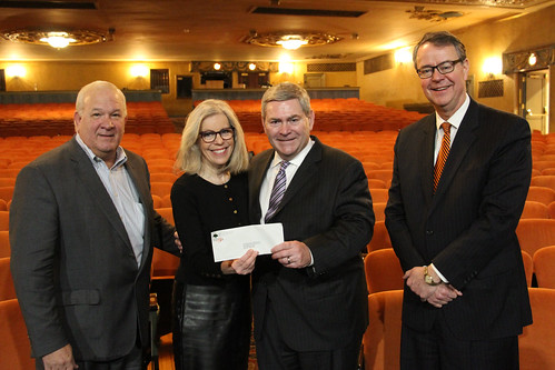 BB&T Economic Growth Fund Check Presentations to Arts Oranizations