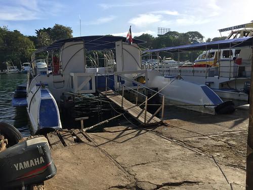 43 - Boote am Rio Romana / Boats at Rio Romana