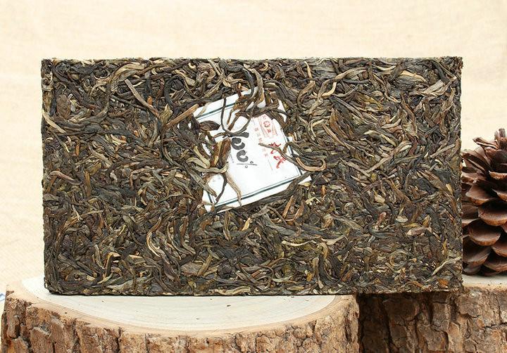 2014 MengKu  BaiFenBai Brick 500g    YunNan  LinCang  Puerh Raw Tea Sheng Cha