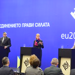 "High-level Meeting of the Ministers of Tourism of the EU member states ""Tourism and economic growth"": Family Photo and Press conference"