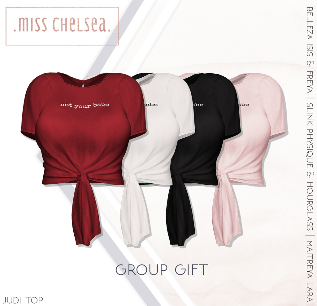 .miss chelsea. judi top group gift - out now! - TeleportHub.com Live!