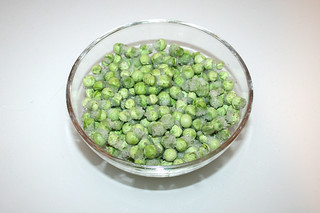 07 - Zutat Erbsen / Ingredient peas