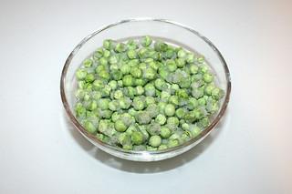 07 - Zutat Erbsen / Ingredient peas