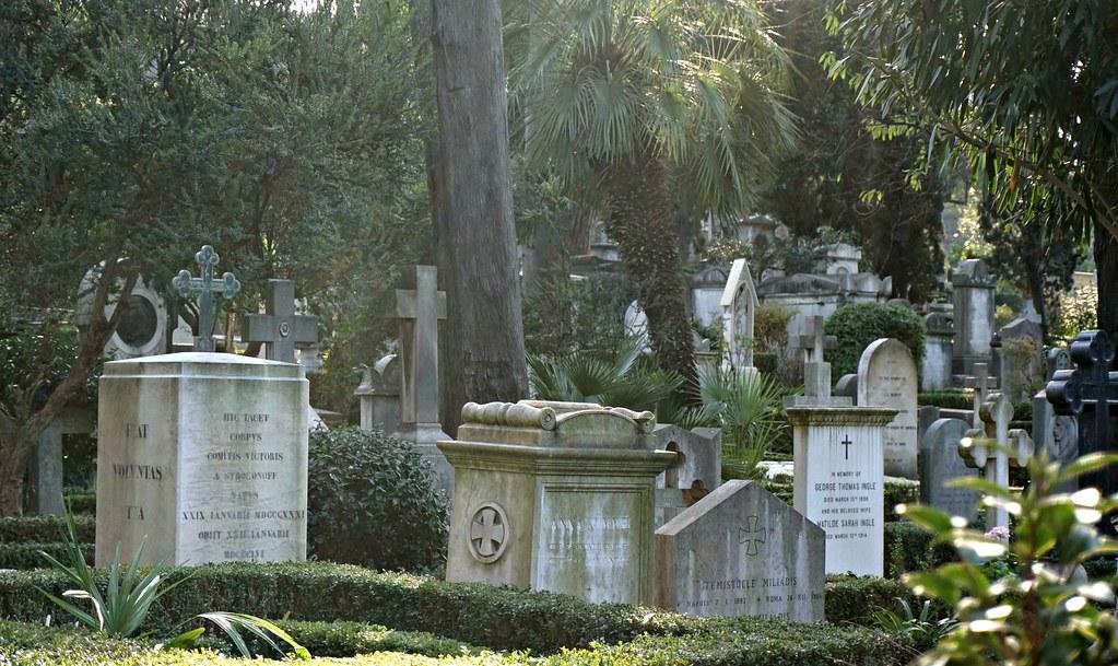 Rooman ei-katolinen hautausmaa