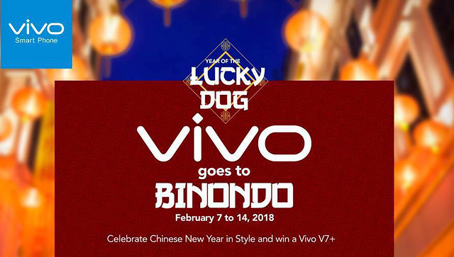 Vivo Goes to Binondo for Chinese New Year Celebrations and Contest