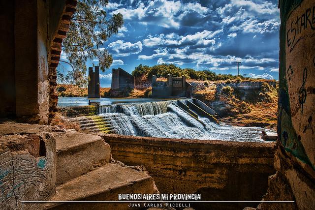 Puente Viejo - Usina de Oriente, Cnel Dorrego, Buenos Aires, Argentina