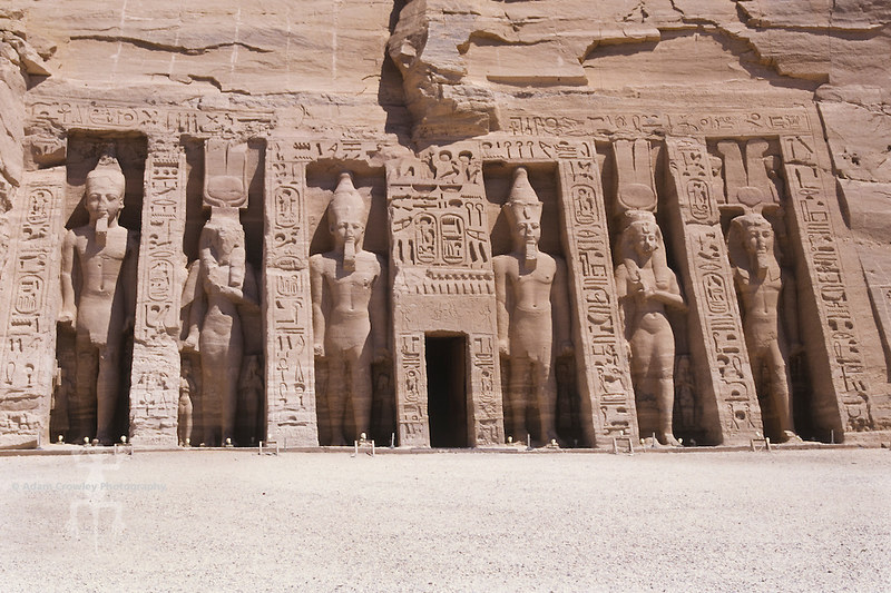 Nefertari's Tomb, Abu Simbel,  Egypt