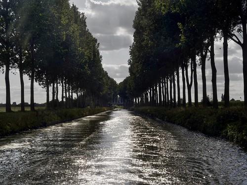 Canal de l'Espierres, Belgium