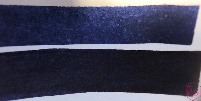 Ink Shot Review KWZ Ink IG Blue #3 @BureauDirect 5