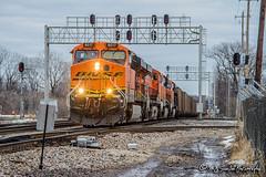 BNSF 6017 | GE ES44AC | BNSF Thayer South Subdivision