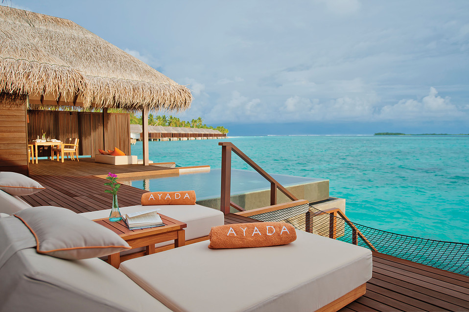 Ayada Maldives, Sunset Family Ocean Suite.