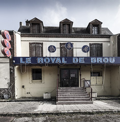 Le restaurant avenue du Général de Gaulle - Désertification