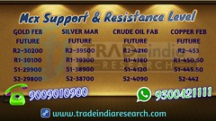 Mcx Support & Resistance Level By TradeIndia Research (6)