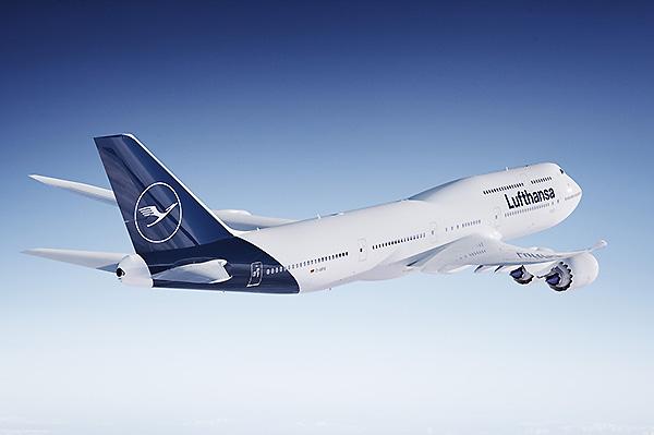 Lufthansa B747-8 new livery (Lufthansa)