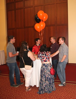 IMG_0947 2017-07-22 8-55pm grouped around the baloons Ames High School class of 2007 10-year reunion Saturday evening ISU Alumni Center #ameshighclassof2007 #AHS2007tenth #2017jul #photobyEdHendricksonJr reunion photo #167