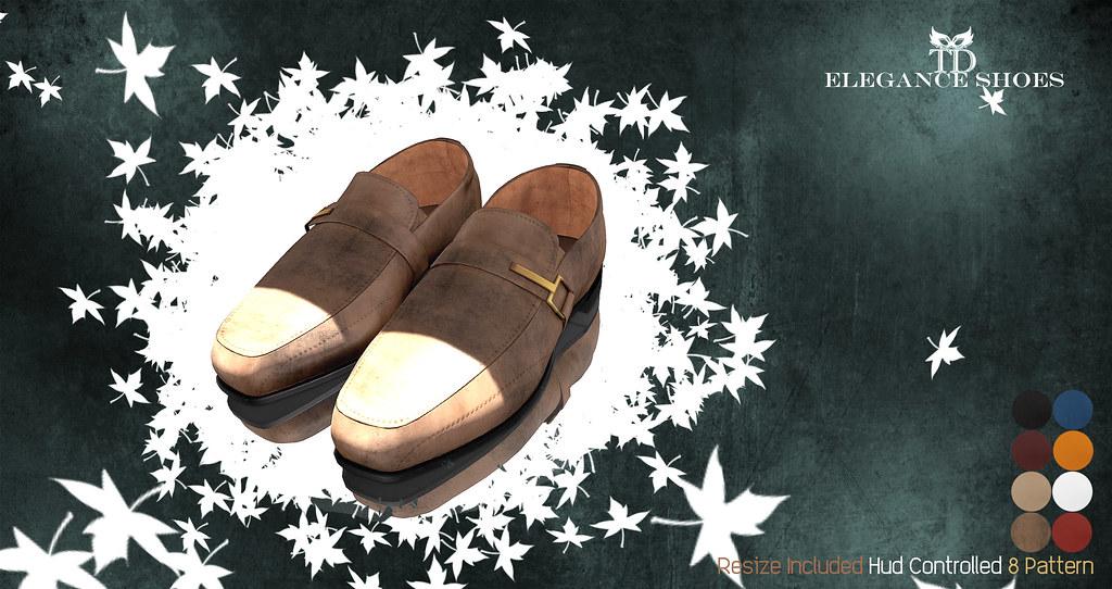 PROMO 24 HOURS 59 L$ ^TD^ Elegance Shoes 8 pattern Hud Controlled - TeleportHub.com Live!
