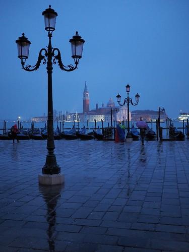 sunrise at Venice