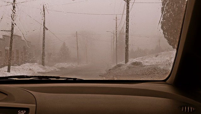 A Foggy Drive, Canon EOS 60D, Canon EF-S 18-55mm f/3.5-5.6 IS