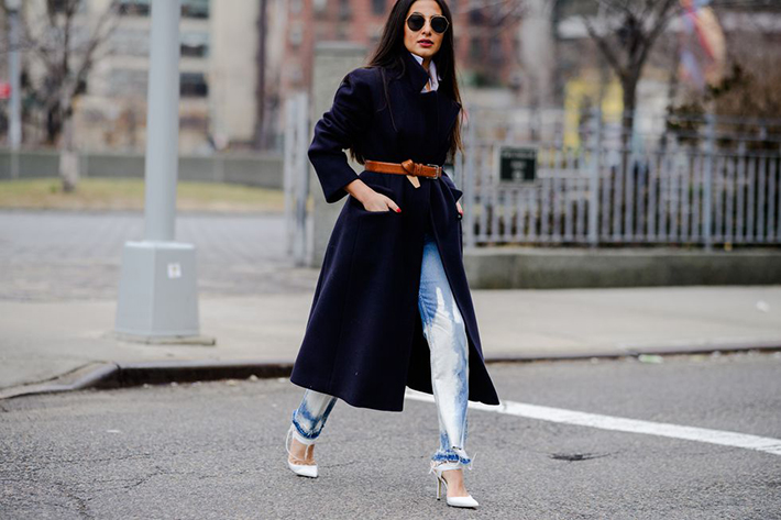 Best Street Style at New York Fashion Week Fall 2018 trend street style fashion outfit 20189