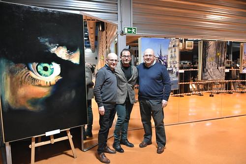 Exposición de pintura y escultura de Pako´s Gym