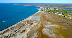 Hardings Beach Aerial