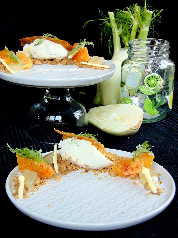 gelato al finocchio con arance e gelatina di limone5