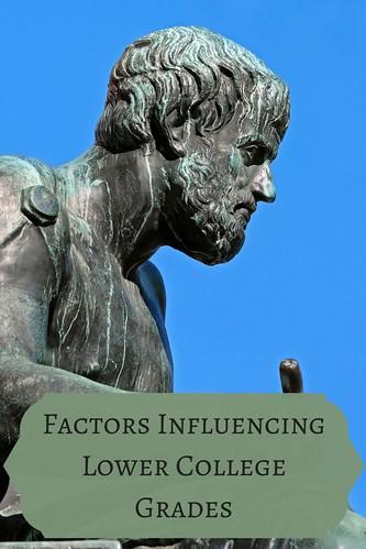 Factors Influencing Lower College Grades