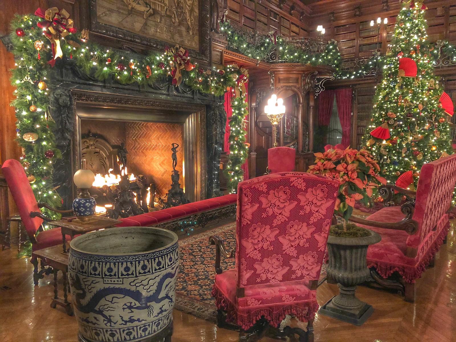 Biltmore @ Christmas (2017), Asheville, NC