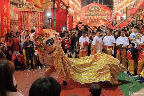 Da Jiu Festival in Tai Wai