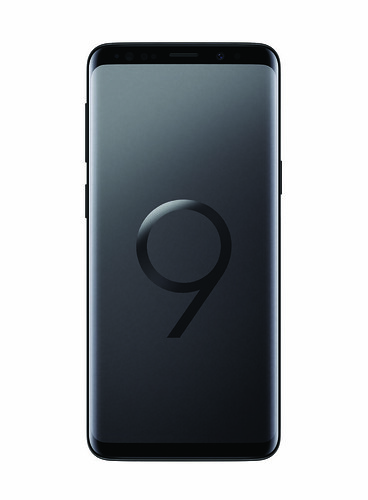 Samsung Galaxy S9 - Midnight Black - Front