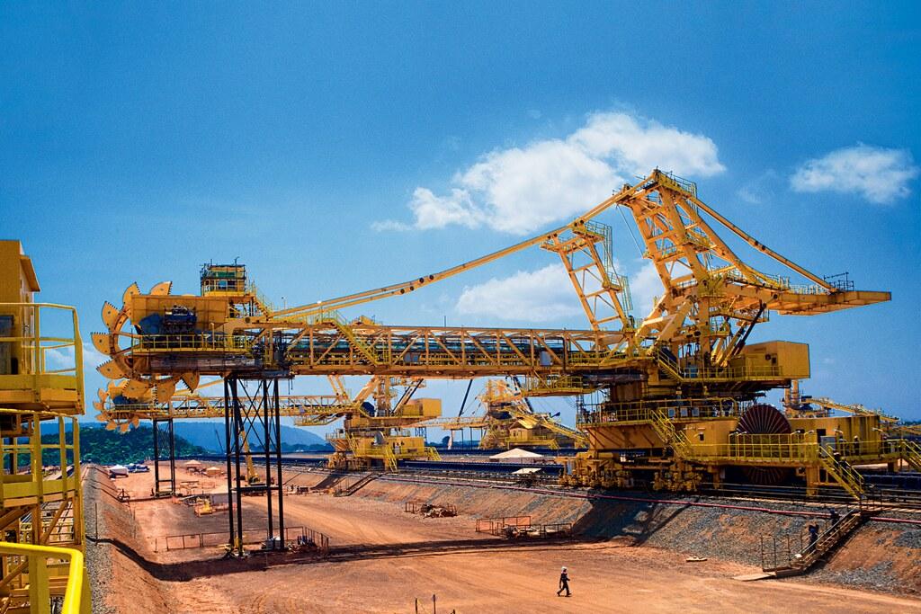 Os 10 países que mais compraram produtos do Pará no 1º bimestre de 2018, Carajás - minério de ferro