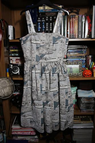 Millennium Falcon dress