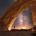 White Mesa Arch by Wayne Pinkston