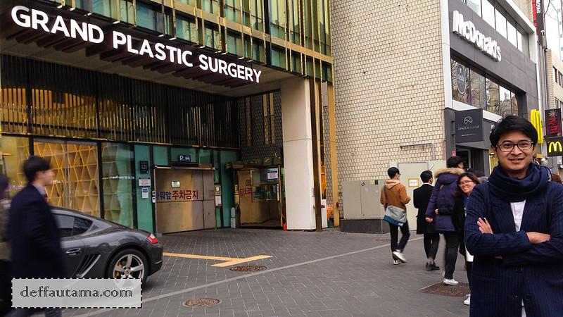 5 hari di Seoul - Grand Plastic Surgery Seoul