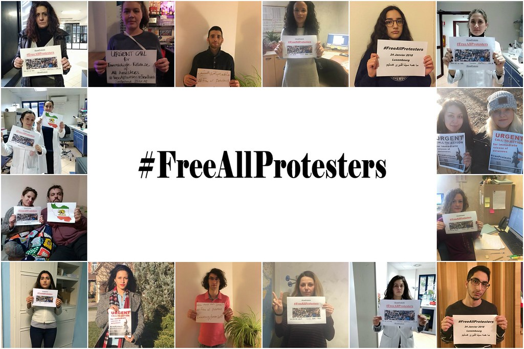 #FreeAllProtesters  Join the campaign to put pressure on #Iran to immediately release the +8000 detained since #IranProtesters started