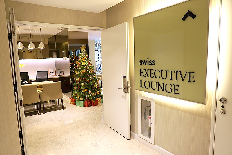 Swiss Executive Lounge at Swissotel Merchant Court Singapore