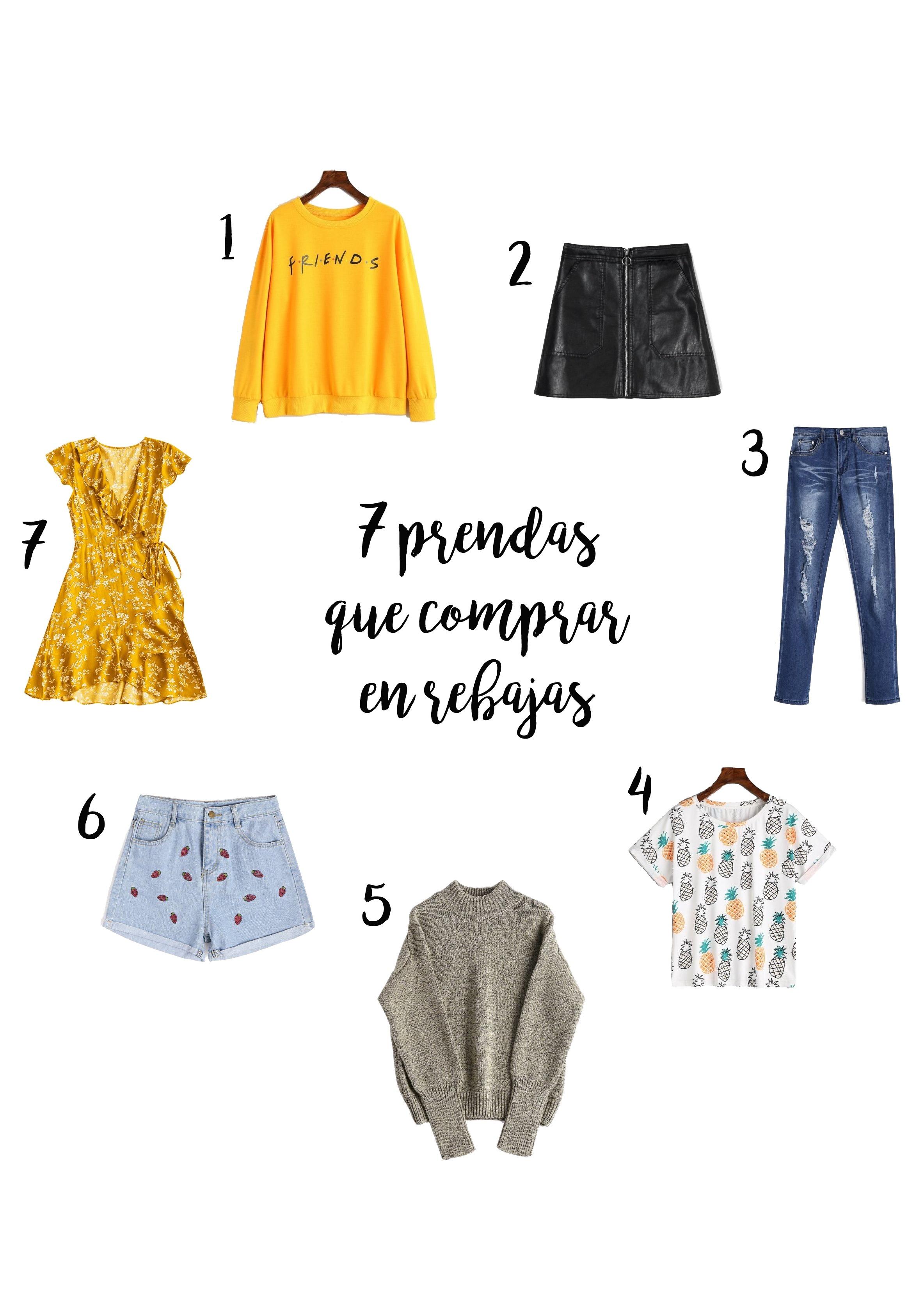 7 prendas que comprar en rebajas