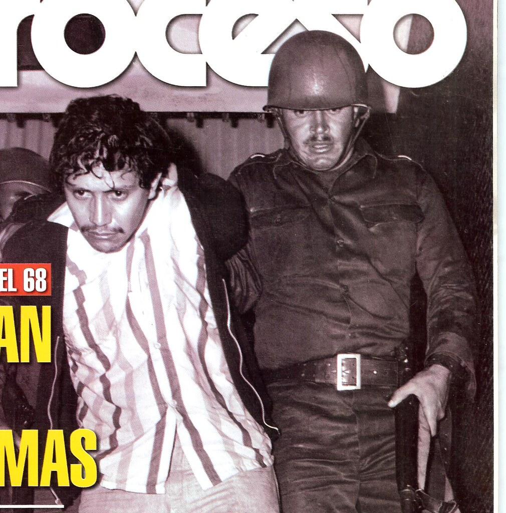 PÁG. 3 (2). Sócrates Campos Lemus, ex dirigente de la Escuela Superior de Economía del IPN, y uno de los líderes históricos del movimiento estudiantil, al momento de su detención el 2 de oc