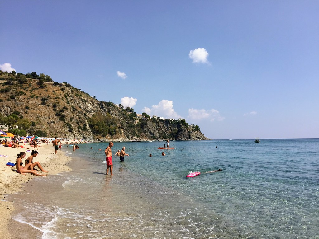 Beach near Catanzaro