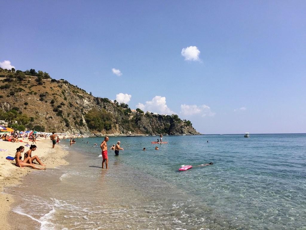 Beach near Catanzaro