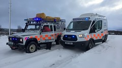 GallowayMRT responding to weather related traffic and welfare incidents