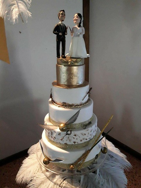 Wedding Cake by Soy's Cake Decorations