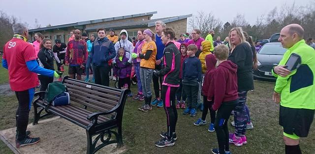 Chesterfield Triathlon Club takeover | Poolsbrook parkrun