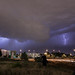 Chasing lighting in Denver by Nickie A Photography