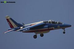E114 1 F-TERR - E114 - Patrouille de France - French Air Force - Dassault-Dornier Alpha Jet E - RIAT 2013 Fairford - Steven Gray - IMG_9932
