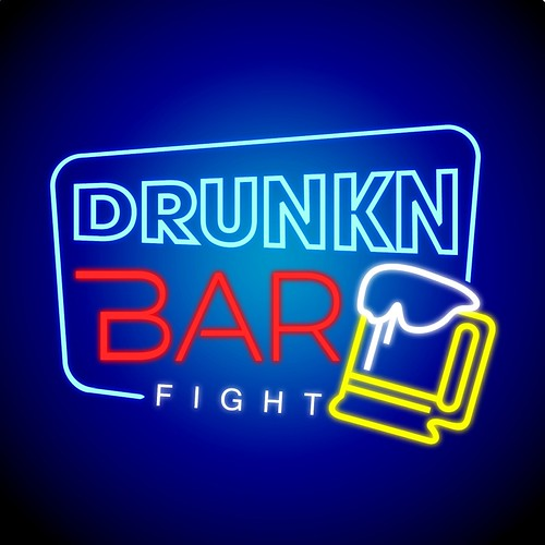 Drunkn Bar Fight