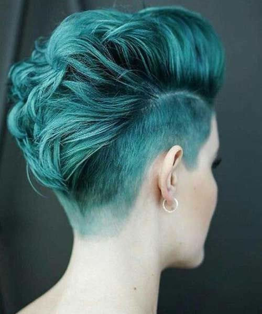 Undercut Short Pixie Hairstyles - Undercut Hairstyles 2018
