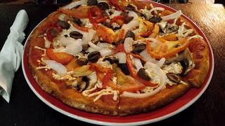 Vegan Vegetariana at Pitstop Pizza