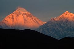 Nepal, Mustang-Trekking. Dhaulagiri, 8167 m. Foto: Bruno Baumann.