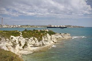 Südküste mit Kraftwerk